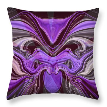 Abstract 77 Throw Pillow by J D Owen