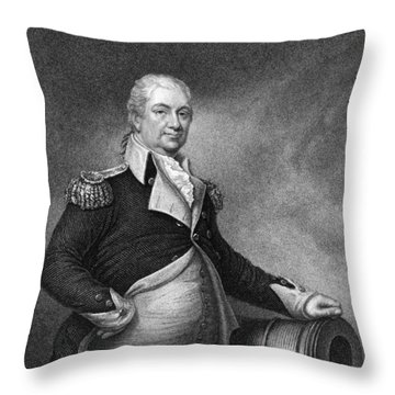 Henry Knox (1750-1806) Throw Pillow by Granger