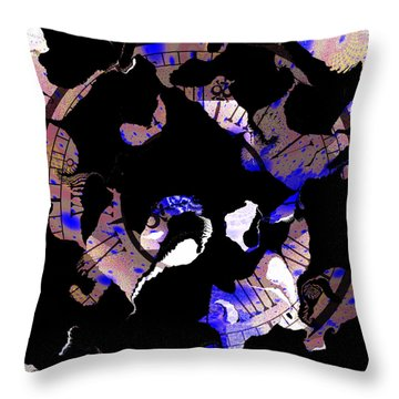 3 Hours Ahead Still Losing Time Throw Pillow by Elizabeth McTaggart