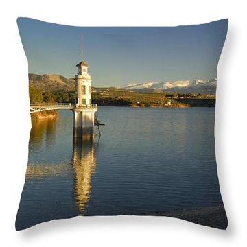 Sierra Nevada Throw Pillow by Guido Montanes Castillo