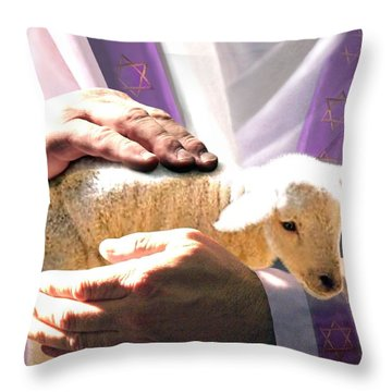 The Chosen Throw Pillow by Bill Stephens