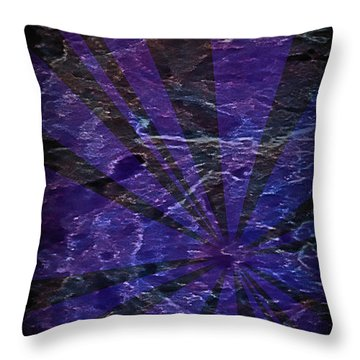 Abstract 95 Throw Pillow by J D Owen
