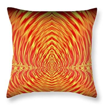 Abstract 98 Throw Pillow by J D Owen