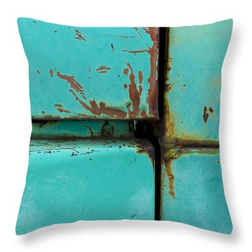 4 Square Throw Pillow by Fran Riley