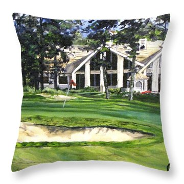4th Andrew Hudson Memorial Golf Tournament Throw Pillow by Kevin F Heuman