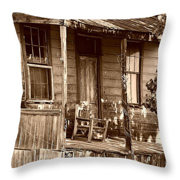 504 Throw Pillow by Cheryl Young