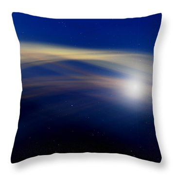 Stardust Throw Pillow by Laura Fasulo