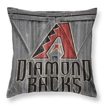 Arizona Diamondbacks Throw Pillow by Joe Hamilton