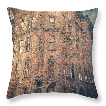7th Floor Throw Pillow by Taylan Apukovska