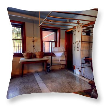 Glensheen Mansion Duluth Throw Pillow by Amanda Stadther