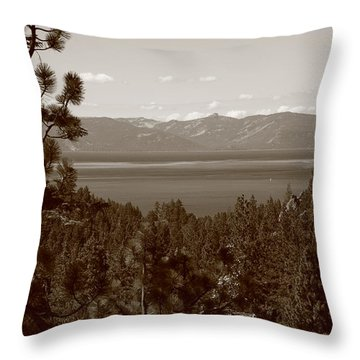 Lake Tahoe Throw Pillow by Frank Romeo