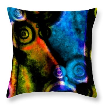A Drop In The Puddle 2 Throw Pillow by Angelina Vick