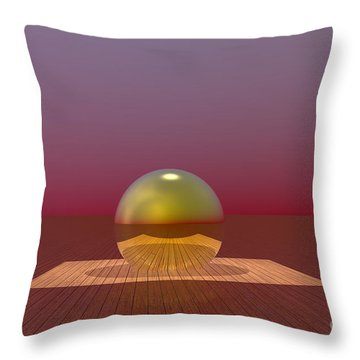 A Lozenge For The Soul Throw Pillow by Barbara Milton
