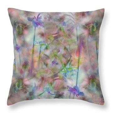 A Midsummer Night's Dream Throw Pillow by RC DeWinter