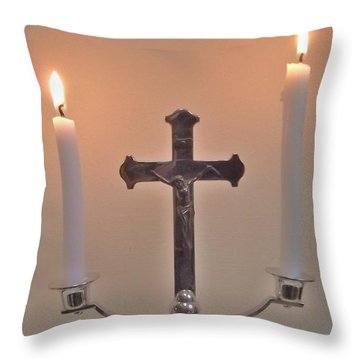 A Moment Of Peace Throw Pillow by John Williams