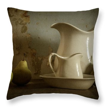 A Simpler Time Throw Pillow by Amy Weiss