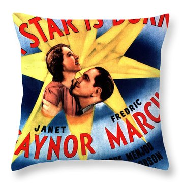 A Star Is Born Throw Pillow by Studio Release