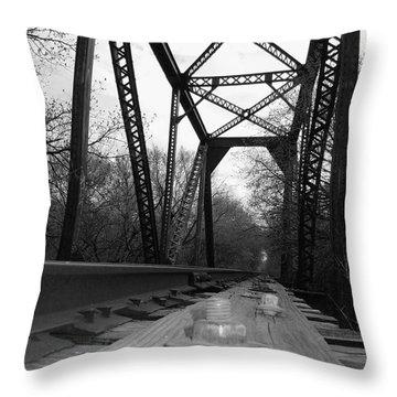 Abandoned #13 Throw Pillow by Robert ONeil