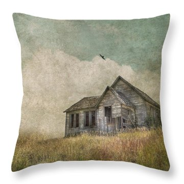 Abandoned Throw Pillow by Juli Scalzi