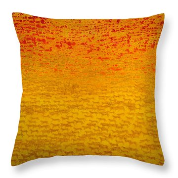 About 2500 Tigers Throw Pillow by Charlie Baird