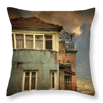 Absence 16 44 Throw Pillow by Taylan Soyturk