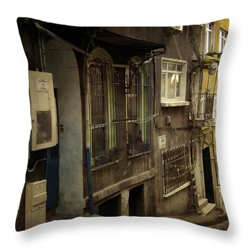 Absence 16.37 Throw Pillow by Taylan Soyturk