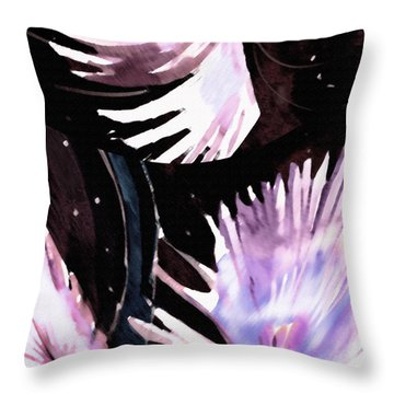 Abstract 12 Throw Pillow by Anil Nene