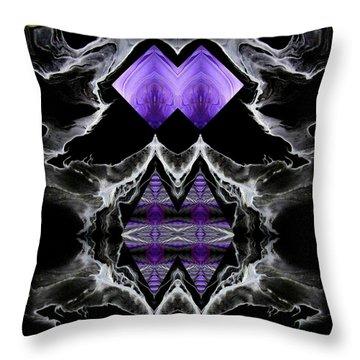 Abstract 136 Throw Pillow by J D Owen