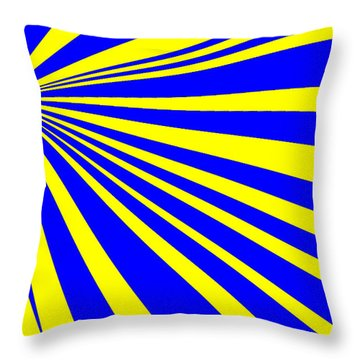 Abstract 150 Throw Pillow by J D Owen
