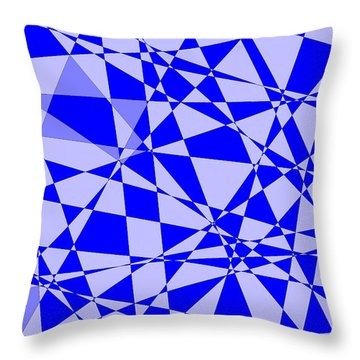 Abstract 151 Throw Pillow by J D Owen