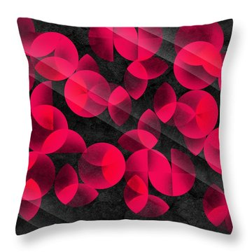 Abstract 4  Throw Pillow by Mark Ashkenazi