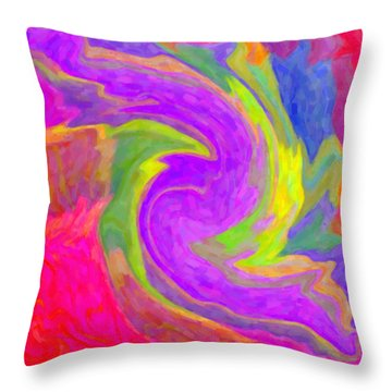 Abstract 44 Throw Pillow by Kenny Francis