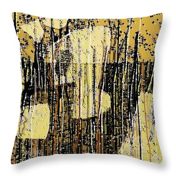 Abstract 971 Throw Pillow by Nedunseralathan R