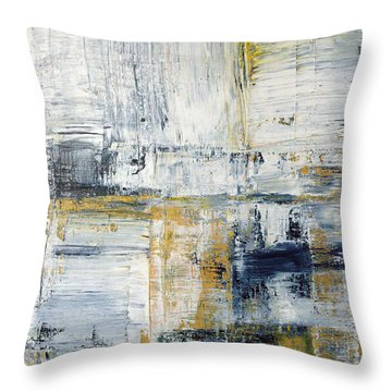 Abstract Painting No. 2 Throw Pillow by Julie Niemela