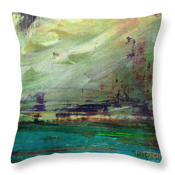 Abstract Print 4 Throw Pillow by Filippo B