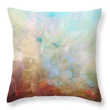 Abstract Print 6 Throw Pillow by Filippo B
