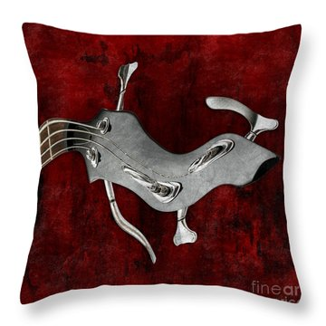 Abstrait En La Mineur - S02bt03 Throw Pillow by Variance Collections