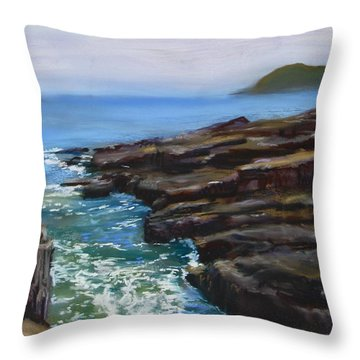 Acadia National Park  Throw Pillow by Jack Skinner