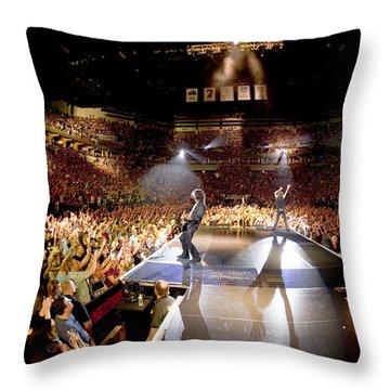 Aerosmith - Minneapolis 2012 Throw Pillow by Epic Rights