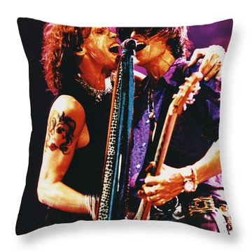 Aerosmith - Toxic Twins Throw Pillow by Epic Rights