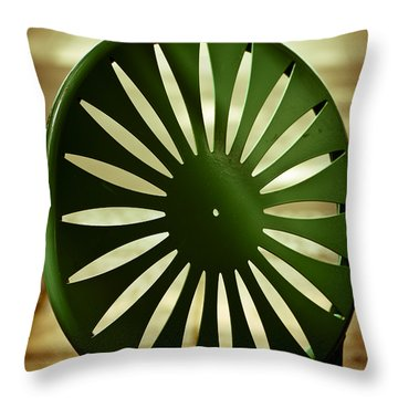 Afternoon On The Terrace Throw Pillow by Christi Kraft