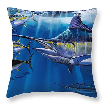 Agressor Off00140 Throw Pillow by Carey Chen