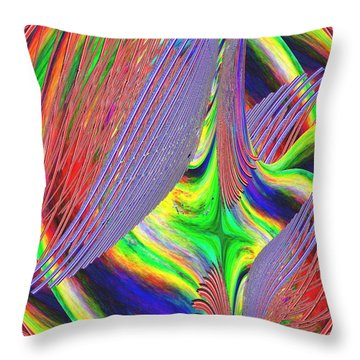 Albatross Dreamscape Throw Pillow by Tim Allen