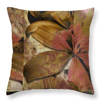 Alexia IIi Throw Pillow by Yanni Theodorou