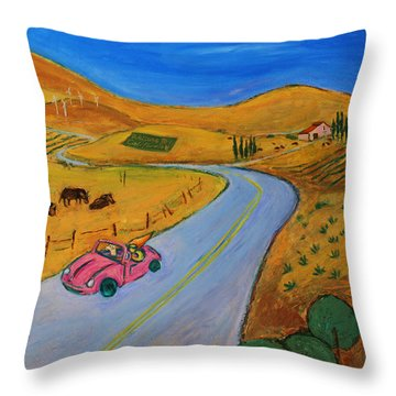 All My Loving I Will Send To You Throw Pillow by Xueling Zou