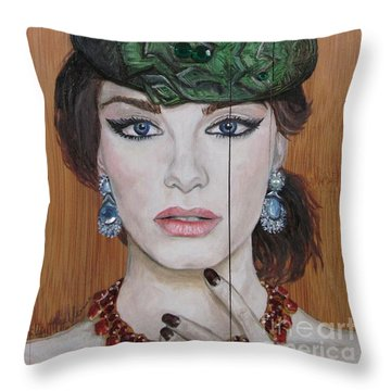 All That Girls Love 2 Throw Pillow by Malinda  Prudhomme