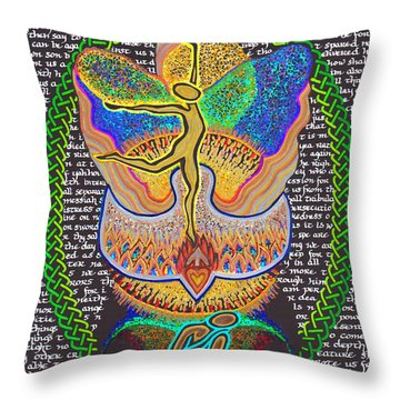 All Things Work Together For Good Throw Pillow by Hidden  Mountain