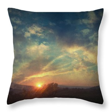 All You Leave Behind Throw Pillow by Taylan Apukovska