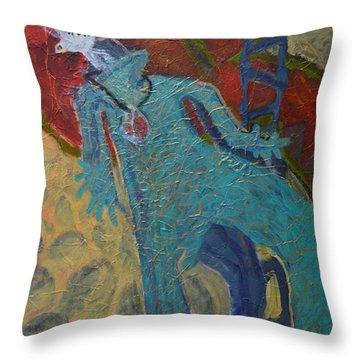 Allmarine Throw Pillow by Nancy Mauerman