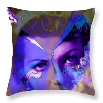 Allure Throw Pillow by Seth Weaver